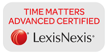 LexisNexis Time Matters Advanced Certified